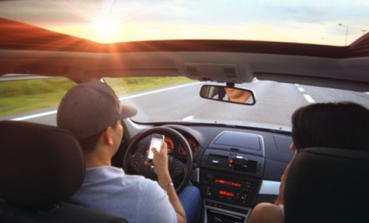 Over A Quarter Of Collisions Are Caused By Distracted Driving