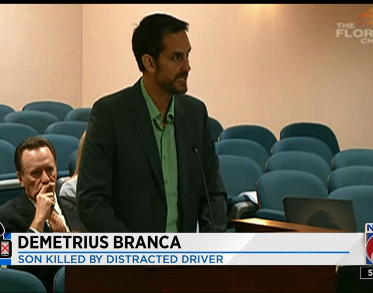 Florida Lawmakers Hear from Victims of Distracted Driving