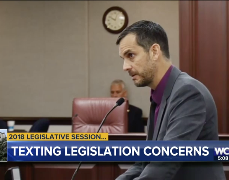New Texting & Driving Legislation Continuing in Florida's Legislature, Despite Racial Profiling Concerns